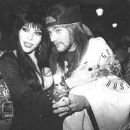 Elvira and Axl Rose