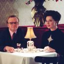 Toby Jones as Truman Capote and Isabella Rossellini as Marella Agnelli in director Douglas McGrath's Infamous, a Warner Independent Pictures release. Photo Credit: Deana Newcomb © 2005 Warner Bros. Entertainment Inc.