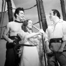 Victor Mature, Louise Platt & Leo Carrillo In Captain Caution
