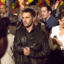 Olivier Martinez and Angelina Jolie in Taking Lives, also starring Ethan Hawke and distributed by Warner Bros. Pictures.