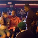 """Jason Weaver as Teddy, Lauren London as New-New, """"T.I."""" Harris as Rashad and Keith David as John Garnett appear in Warner Bros. Pictures' music-driven coming of age story, ATL. Photo by Guy D'Alema - 454 x 302"""