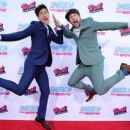 Anthony Padilla and Ian Hecox - Smosh: The Movie Premiere - 454 x 256