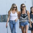Charlotte Mckinney in Jeans Out Shopping in Beverly Hills - 454 x 681