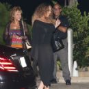 Mariah Carey – Out for dinner at Nobu in Malibu