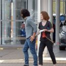 Rose Leslie and Kit Harington – Car Shopping in London - 454 x 535