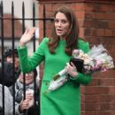 Kate Middleton – Visits Lavender Primary School in London - 454 x 640
