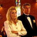 Left: Joanna Cassidy star as Evelyn in Regent Releasing 'Kiss the Bride.'