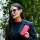 Demi Moore – Leaves Harry Morton's memorial service in Bel Air