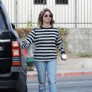 Ashley Tisdale in Ripped Jeans – Out in LA