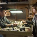 SEAN BEAN as Kyle and THOMAS CURTIS as Sammy Aimes in Warner Bros. Pictures' drama North Country. - 454 x 296