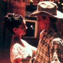Penelope Cruz and Matt Damon in Miramax's All The Pretty Horses - 2000