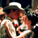 Matt Damon and Penelope Cruz in Miramax's All The Pretty Horses - 2000