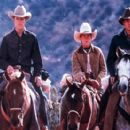 Matt Damon, Lucas Black and Henry Thomas in Miramax's All The Pretty Horses - 2000 - 400 x 277
