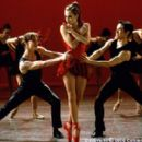 The finale of the Columbia Pictures presentation Center Stage (2000) culminates in an original ballet that explores in dance and music the central romantic triangle of Cooper (Ethan Stiefel, left foreground), Jody (Amanda Schull, center foreground) and Ch