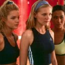 Clare Kramer, Kirsten Dunst and Nicole Bilderback are members of America's number one cheerleading team in Universal's Bring It On - 2000