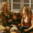 Peter just wants to repair his relationship with his children, Georgey (Angus T. Jones, center) and Sarah (Kimberly J. Brown, right), and his ex-wife, Kate (Jean Smart, left)