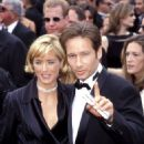Tea Leoni and David Duchovny At The 49th Annual Primetime Emmy Awards (1997)