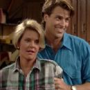 Ted McGinley and Amanda Bearse