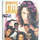 Michael Hutchence - Record Mirror Magazine Cover [United Kingdom] (19 November 1988)