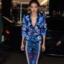 Gigi Hadid – Heads to a fashion show in Paris