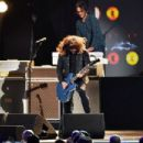 Dave Grohl of Foo Fighters performs onstage during MusiCares Person of the Year honoring Aerosmith at West Hall at Los Angeles Convention Center on January 24, 2020 in Los Angeles, California - 454 x 303