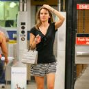 Hilary Swank Out About In Ny
