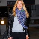 Doutzen Kroes Arrivea At Miami International Airport