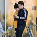 Bella Thorne and Gregg Sulkin out in Studio City