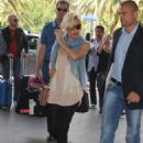Sienna Miller Arriving At Airport In Nice