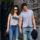 Lily James & Matt Smith – Enjoying a Day out in NYC 07/24/2017 - 454 x 681