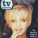 Goldie Hawn - Sunday Herald Traveler TV Magazine Cover [United States] (12 May 1968)