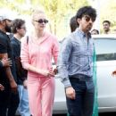 Sophie Turner and Joe Jonas – Arrives at Jodhpur Airport in India