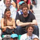 Pau Gasol and Silvia Lopez Castro