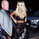 Rita Ora – Arrives at GQ Men of the Year Awards Party in London