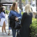 Whitney Port has lunch at La Scala in Beverly Hills - 454 x 651