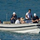 Jon Bon Jovi is picture of relaxation with shades as he catches tropical rays on boat trip during St Barts getaway - 454 x 303