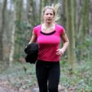 Gemma Atkinson Working Out In London