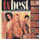 Molly Culver, Natalie Raitano, Pamela Anderson - TV Best Magazine Cover [Czech Republic] (3 November 2000)