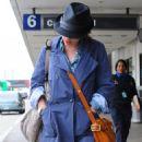 Scarlett Johansson Arriving Into LAX Airport, April 22 2010