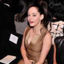 Actress Rose McGowan attends the Carolina Herrera fashion show during Mercedes-Benz Fashion Week Spring 2014 at The Theatre at Lincoln Center on September 9, 2013 in New York City