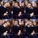 LIAM PAYNE & SOPHIA SMITH AT NBA GAME (January 16) - 454 x 454
