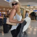 Katheryn Winnick at LMM airport in San Juan - 454 x 786