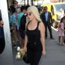 Lady Gaga – Arriving to Electric Lady Studios in New York City