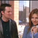Matthew Perry and Elizabeth Hurley in Reginald Hudlin's comedy Serving Sara - 2002