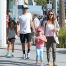 Jessica Alba and Her Family Enjoy a Day Out in Beverly Hills - 454 x 340