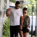 Caroline Flack and Andrew Brady – Out in London - 454 x 681