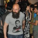 Bergüzar Korel &  Halit Ergenç Out and about in Beyoglu (May 30, 2014)