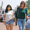 Kylie Jenner spends time with Dad at the Country Martin in Malibu, California on June 3, 2016