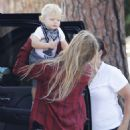 Stacy Fergie Ferguson Out With Her Son In Brentwood