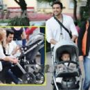 Jaime Camil and Heidi Balvanera with daughter